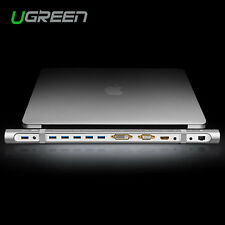 Ugreen Multi-in-1 Docking Station USB 3.0 Hub HDMI DVI VGA Gigabit Ethernet