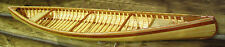 "36"" Canoe model kit. Quality wood strip construction, just like the real thing!"