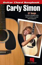 Carly Simon Guitar Chord Songbook 37 Songs! Book NEW!