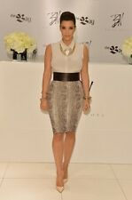 NWT Lanvin Python Skirt as seen on Kim Kardashian -S