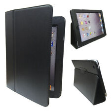 Apple iPad 4 / 3 / Stylish Black Case / Stand with Magnetic lock