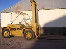 20,000 lb. YALE Forklift; Pneumatic Tires; V-8 Gas/Propane Engine