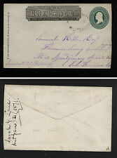 US   Wells  Fargo  Knights Ferry    to  San Francisco   cover  1871   KL0330