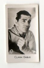 Clark Gable 1933 Bridgewater Cookies 2nd Series Film Star Card #59