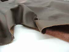 1 Skin Real leather 6,24 qm Upholstery Cowhide Napoli Classic Colour brown
