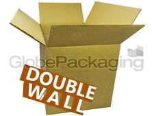 """100 x Medium D/W Moving Cardboard Cartons Boxes 14x10x12"""" Double Wall *OFFER*"""