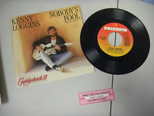 KENNY LOGGINS nobody's fool/i'm gonna do it right JUKEBOX PICTURE SLEEVE 45