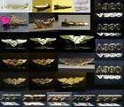 Airbus Boeing Embraer Pilot uniform accessory gifts Wings Pins Tie-Bars Keyrings