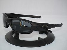 OAKLEY POLARIZED STRAIGHT JACKET II 2 Sunglasses 24-124 Matte Black/Grey