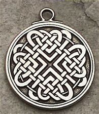 Celtic LOVE KNOT Pendant Necklace Bonds of LOVE Amulet - LOVERS Celtic jewelry