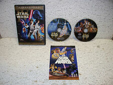 Star Wars Limited Edition Widescreen Episode IV DVD Out Of Print Rare Version