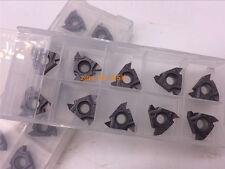10×  3/8'' 16 ER AG60 Carbide Threading Insert 16ERAG60 -TF PR SER SEL
