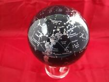 Mova Silver Constellation 4.5 inch Motion Globe.
