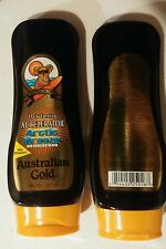 Lot of 4 Australian Gold Arctic Breeze Dark Tanning Accelerator Tanning Lotions