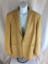 KENNY RODGERS WESTERN COLLECTION BY CIRCLE S MENS TAN WESTERN JACKET COWBOY 40R