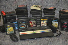 ATARI 2600 + 50 GAMES !!! Pac Man Asteroids S. Invaders Berzerk Defender Combat