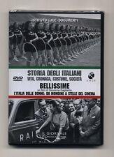 Dvd STORIA DEGLI ITALIANI 11 Bellissime L'Italia delle donne ISTITUTO LUCE