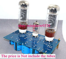 Single-ended Class A Tube power amplifier DIY KIT you can install EL34 + ECC88