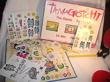 TAMAGOTCHI The Game For 2-4 Players Complete But For One Plastic Card Base