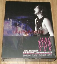 JANG KEUN SUK KEUNSUK 2012 ASIA TOUR CRI SHOW 2 LIVE K-POP 4 DISC DVD SEALED