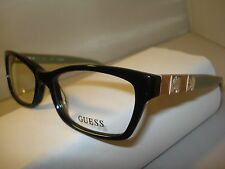 AUTH NEW GUESS EYEGLASSES 2414 LADIES BLACK 53  PLASTIC w/ CASE