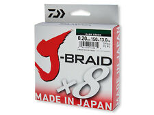 (0,08€/1m)  Daiwa J-BRAID X8 multi-color 0,28mm 500m rundgeflochten Japan