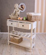 Wooden table Kitchen Dresser im french country house style Vintage