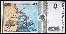 Romania, 200 Lei 1992, UNC.
