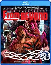 FROM BEYOND New Sealed Blu-ray + DVD Collector's Edition Unrated Director's Cut