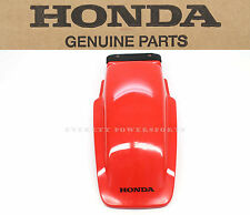 New Genuine Honda Rear Fender 86-02 XR200 R OEM Plastic Mud Guard #Q10