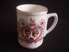PRINCE CHARLES & LADY DIANA SPENCER ~WEDDING ~29th JULY 1981 ~KERNEWEK ~MUG