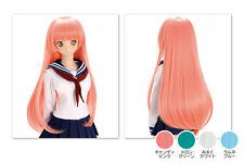 NEW Volks Akihabara Dollfie Dream Limited Wig / DDW-01D Long Straight (Blue)