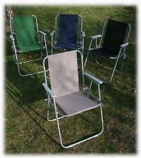 klappbarer Gartenstuhl Retro-Stil ~4 Farben~ Campingstuhl Klappstuhl Stuhl NEU