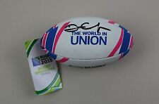 Dan Carter Signed Mini Rugby Ball Autograph New Zealand Union All Blacks COA