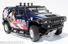 New York NY Yankees Derek Jeter HUMMER Diecast Truck 1:18 - Christmas Gift Sale