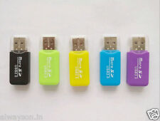 2 PCS High Speed Mini USB2.0 Micro SD TF T-Flash Memory Card Reader Adapter