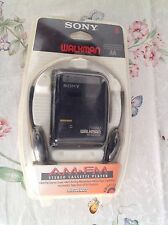 NEW Sony Walkman WM-FX103 AM FM  Cassette Tape Player with Headphones Vintage