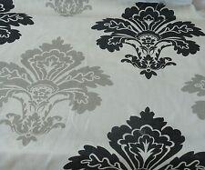 Kravet Ikat Linen Upholstery Drapery Fabric- Black Gray Ivory 60 yd BOLT-75% off