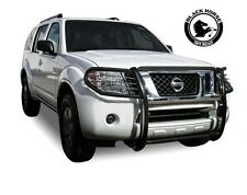 Black Horse [Fits 2008-2012 Nissan Pathfinder] Grille Brush Guard 17A110400MA