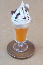 1:12 Scale Orange Ice Cream Sundae Dolls House Miniature Food Accessory O8
