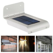 ABS Solar Power Motion Sensor Jardin Seguridad Lampara Al airelibre Impermeable