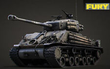 "1:16 - DECALS - Abziehbilder - Sherman M4A3E8 - Normandy - famous "" FURY "" tank"