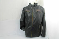 Bmw señora chaqueta de cuero Heritage XL negro Leather Jacket recreativas chaqueta