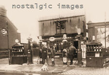 PHOTO TAKEN FROM  A 1925 iMAGE OF GARAGE ON THE FELIXSTOWE RD IPSWICH SUFFOLK