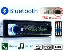 Car Radio Bluetooth Audio Stereo USB/SD/FM/AUX iPhone Android Head Unit In-dash