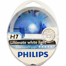 H7 PHILIPS DIAMOND VISION POWER HEADLIGHT CAR BULBS H7 DIAMOND VISION H7 5000k