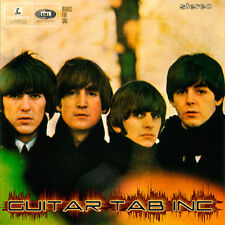 The Beatles Guitar & Bass Tab BEATLES FOR SALE Lessons on Disc