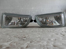 2001 2005 JDM NISSAN PRIMERA P12 BUMPER CRYSTAL FOG LIGHT SET  RARE ITEM OEM