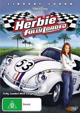 HERBIE - Fully Loaded DVD Movie BRAND NEW Walt Disney VW BEETLE LOVE BUG R4
