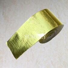 """Sundely Gold Heat Defence Reflective Tape - 2"""" x 30ft 1 Roll"""
